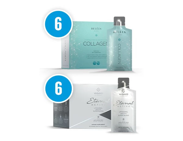 Eternal Active and Collagen Combo-6 Pack